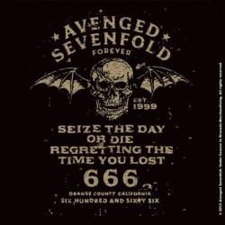 Podtácek Avenged Sevenfold - Seize The Day