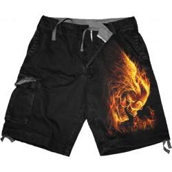 Pánské kraťasy Spiral Direct - Burn In Hell