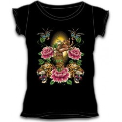 Dámské tričko - Henna Hand Tattoo