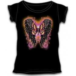 Dámské tričko - Wings & Butterfly