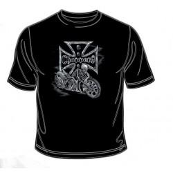 Pánské tričko  - Skeleton Chopper