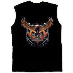 Pánké tričko bez rukávů - Eagle Choppers