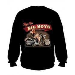 Pánská mikina bez kapuce - Big Boys