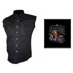 Pánská košile s potiskem - Attitude