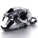 Ocelový přívěsek - Šavlozubý tygr