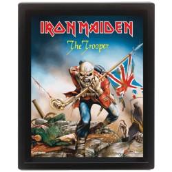 3D Obraz v rámu - Iron Maiden