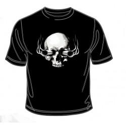 Pánské tričko  -  Guns And Skull