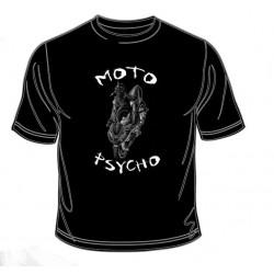 Pánské tričko  -  Moto Psycho