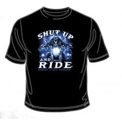 Pánské tričko  - Shut Up And Ride