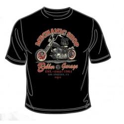 Pánské tričko  - Mechanic Shop