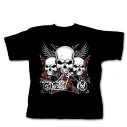 Dětské tričko - Iron Cross Chopper