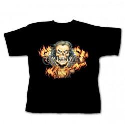 Dětské tričko - Skull & Engine