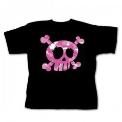 Dětské tričko - Pink Skull