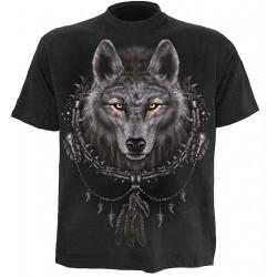 Pánské tričko Spiral Direct - Wolf Dreams