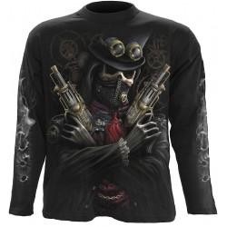 Pánské tričko s dlouhým rukávem Spiral Direct - Steam Punk Bandit