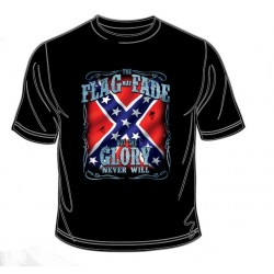 Pánské tričko  - Rebel Flag Fade