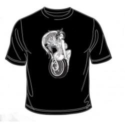 Pánské tričko  - Speed Devil On Tire