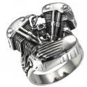 Prsten z chirurgické oceli - Motor