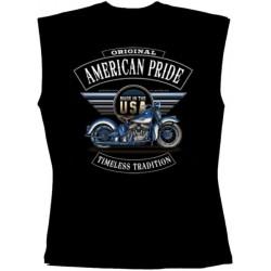 Pánské tričko bez rukávů - American Pride