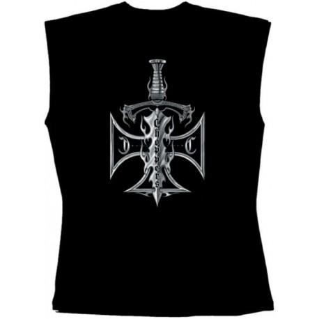 Pánské tričko bez rukávů - Sword & Cross