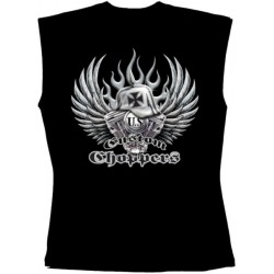Pánské tričko bez rukávů - Custom Choppers