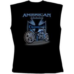 Pánské tričko bez rukávů - American Original