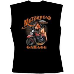 Pánské tričko bez rukávů - Motorhead Garage