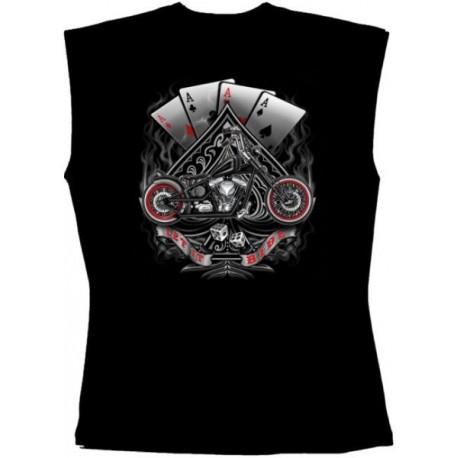 Pánské tričko bez rukávů - Bobber & Cards