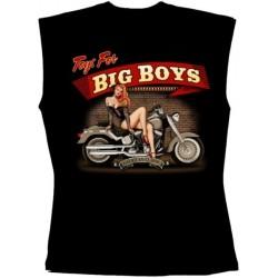 Pánské tričko bez rukávů - Big Boys