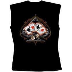 Pánské tričko bez rukávů - Industrial Skull