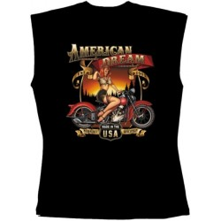 Pánské tričko bez rukávů - American dream