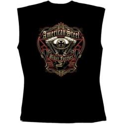 Pánské tričko bez rukávů - American Speed