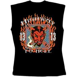 Pánské tričko bez rukávů - Highway To Hell