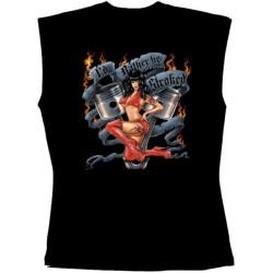 Pánské tričko bez rukávů - I'd Rather Be Stroked