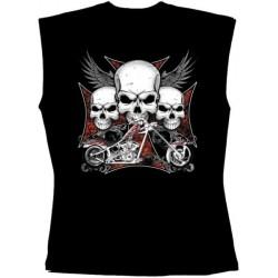 Pánské tričko bez rukávů - Iron Cross Chopper