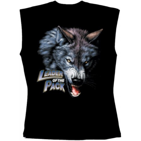 Pánské tričko bez rukávů - Leader Of The Pack