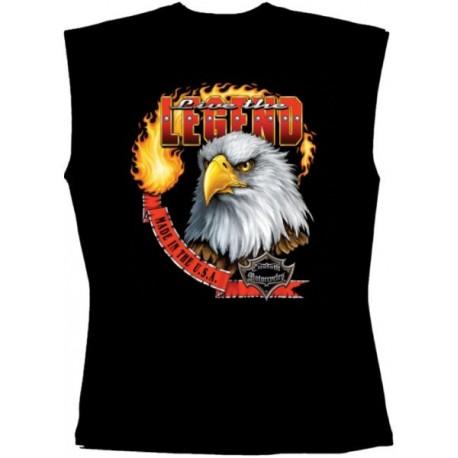 Pánské tričko bez rukávů - Live The Legend