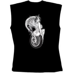 Pánské tričko bez rukávů - Speed Devil On Tire