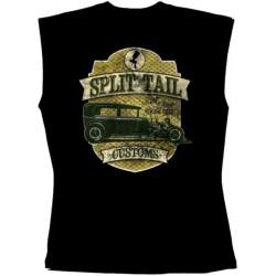 Pánské tričko bez rukávů - Split Tail