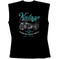 Pánské tričko bez rukávů -  Vintage Motorcycles