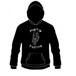 Pánská mikina s kapucí - Moto Psycho