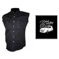 Pánská košile s potiskem - Back Alley Garage