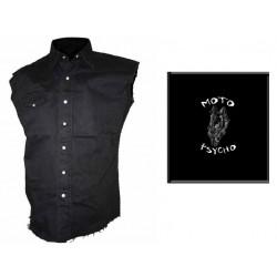 Pánská košile s potiskem - Moto Psycho