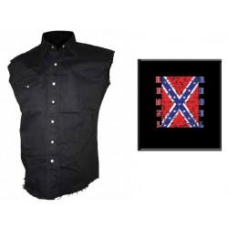 Pánská košile s potiskem - Rebel