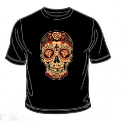 Pánské tričko  - Day Of The Night Sugar Skull