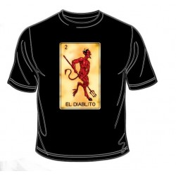 Pánské tričko  - El Diablito