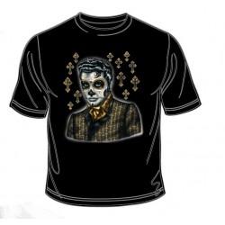 Pánské tričko  -  Greaser Day Of The Dead
