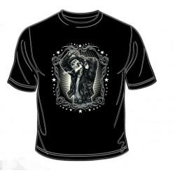 Pánské tričko  -  Greaser Leather Jacket