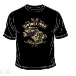 Pánské tričko  - Vintage Iron