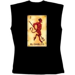 Pánské tričko bez rukávů - El Diablito